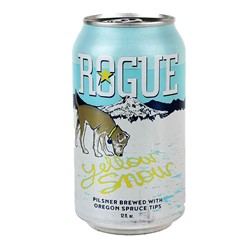 Bild von Rogue - YELLOW SNOW - PILSNER DOSE - USA - 0,35l