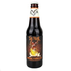 Bild von Flying Dog - THE FEAR - IMPERIAL PUMPKIN ALE - USA 0,33l  (MHD 08. August 2019)