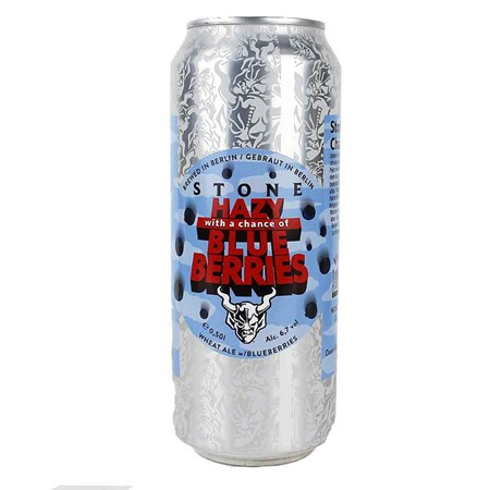Bild von Stone Brewing - HAZY - with a Chance of BLUE BERRIES - DOSE - 0,5l