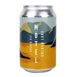 Bild von Motel Beer - GOLDEN LAKE - GOLDEN ALE - DOSE 0,33l (MHD 11. April 2019)