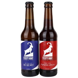 Bild von Feisty Goat Brewing - 2er CRAFT BEER SET - je 0,33l