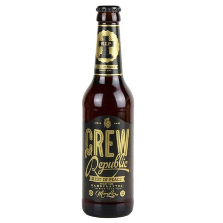 Bild von CREW Republic Bier - REST IN PEACE - BARLEY WINE - 0,33l
