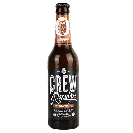 Bild von CREW Republic Bier - FOUNDATION 11 - PALE ALE - 0,33l