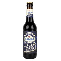 Bild von Camba Bavaria - BLACK SHARK- IMPERIAL BLACK IPA -  0,33l
