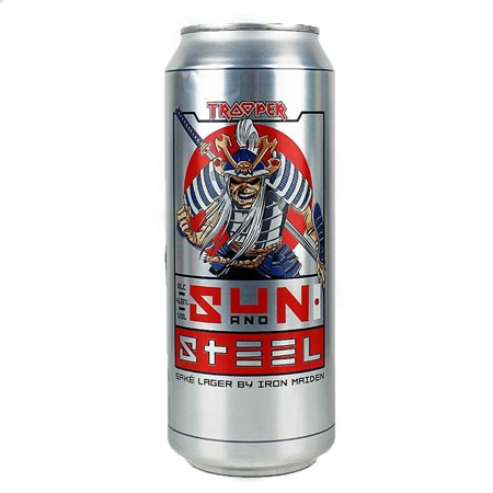 Bild von Robinsons - TROOPER - SUN AND STEEL - 0,5l Dose