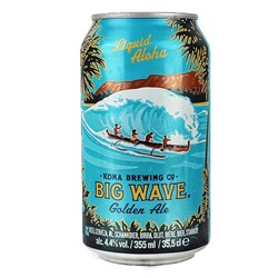 Bild von Kona Bier - BIG WAVE - Golden Ale aus Hawaii 0,35l - DOSE