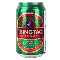 Bild von Tsingtao Bier - China - DOSE 0,33l  ( MHD 05. November 2020)
