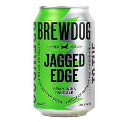 Bild von Brewdog Bier - JAGGED EDGE - SPIKY INDIA PALE ALE - Schottland 0,33l