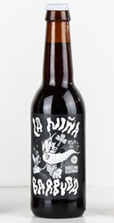 Bild von Barcelona Beer Company - LA NINA BARBUDA - BROWN ALE - 0,33l (MHD 30. September 2018)